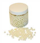 8mm 284g White Pearls in Jar