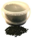 4-6mm 4kg Black Pebbles in Bucket