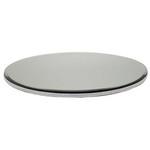 25cm Diamante Edge Mirror Plate