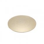 Gold Swirl Mirror Plate (25cm)