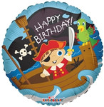 Birthday - Pirate Boy  Balloon