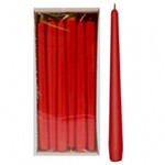 250 x 23mm Red Taper Candle (Pack 12)