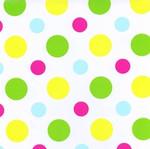 80cm x 100m Disco Dots Design