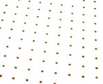 80cm Printed Gold Dots Film