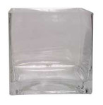 16cm Glass Cube