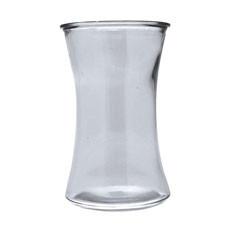 20.5x12.5cm Clear Waisted Vase (12)