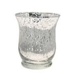 Silver Hurricane Vase c