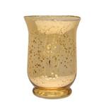 Champagne Hurricane Vase 11cm