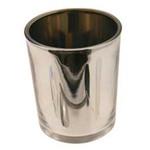 Silver Cylinder Votive