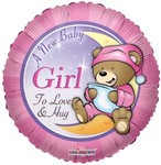 A New Baby Girl Balloon