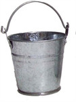 10.5cm Galvanised Bucket