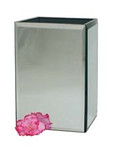 Bevell Square Mirror Vase (20cm)