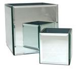 Bevell Square Mirror Vase (14cm)