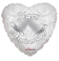 Anniversary Bells Heart