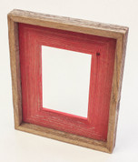 Shabby Chic Natural Red Frame