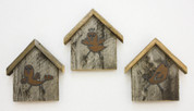 Rustic Birdhouse Key Holders, Combo Pack
