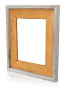 Natural Reclaimed Frame, Burnt Sienna