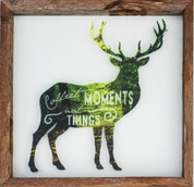 Copy of Rustic Glass Framed Deer