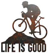 Life is Good Cyclist