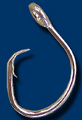 Mustad Curved Point Offset Hooks, 39965DT, 11/0, BX100