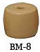 """Net & Seine Floats (BM-8); Size 4"""" X 3""""; Hole 3/4"""" (EA)"""