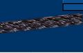 "Hollow Braid Polypropylene;#6; 3/16"" dia.; 650# test; 640' length"