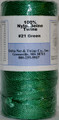Green Twisted Nylon Twine #21