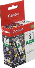 Canon 9473A003 (BCI-6G) Green Ink Cartridge Original Genuine OEM