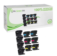 Brother LC203/LC205 Ink Cartridge 10-Pack Savings Pack BGI Eco Series Compatible