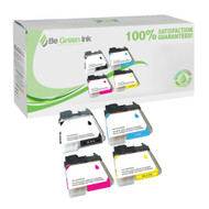 Brother LC61 4-Pack Ink Cartridge Savings Pack CMYK BGI Eco Series Compatible