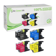 Brother LC75 4-Pack Ink Cartridge Savings Pack BGI Eco Series Compatible