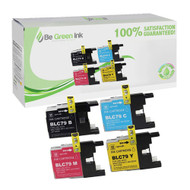 Brother LC79 4-Pack Ink Cartridge Savings Pack (Includes 1 Each C/M/Y/K) BGI Eco Series Compatible
