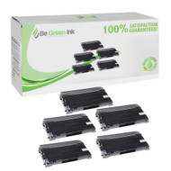 Brother TN350 Set of Five Super Yield (100% more) Black Toner Cartridges Savings Pack ($20.71/ea) BGI Eco Series Compatible