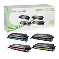 Canon 117 Toner Cartridge Color Set (K,C,M,Y) BGI Eco Series Compatible