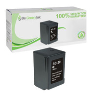 Canon BC-20 Remanufactured Black Ink Cartridge BGI Eco Series Compatible