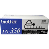 Brother TN-350 Toner Black Toner Cartridge Original Genuine OEM