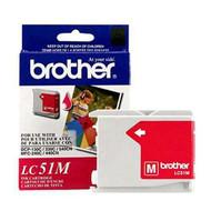 Brother LC51M Magenta Ink Cartridge Original Genuine OEM