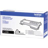 Brother TN-450 Black Laser Toner Cartridge 2,600 Page Yield Original Genuine OEM
