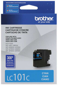Brother LC101C Cyan Ink Cartridge Original Genuine OEM