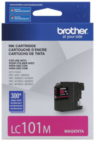 Brother LC101M Magenta Ink Cartridge Original Genuine OEM