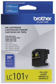 Brother LC101Y Yellow Ink Cartridge Original Genuine OEM