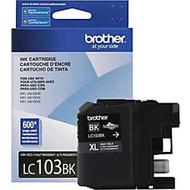 Brother LC103BK High Yield Black Ink Cartridge Original Genuine OEM