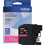 Brother LC103M High Yield Magenta Ink Cartridge Original Genuine OEM
