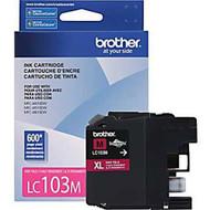 Brother LC103M High Yield Magenta Ink Cartridge Original Genuine OEM