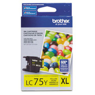 Brother LC75Y Yellow Ink Cartridge Original Genuine OEM