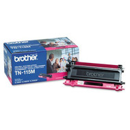 Brother Genuine TN115M Magenta Toner Cartridge Original Genuine OEM