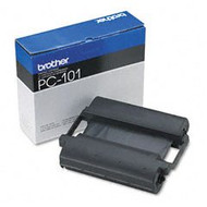 Brother PC101 Black Thermal Thansfer Cartridge Original Genuine OEM