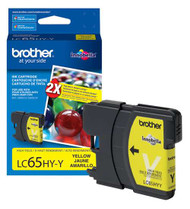 Brother LC65HYY High Yield Yellow Ink Cartridge Original Genuine OEM