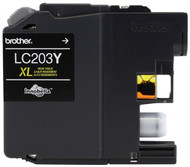 Brother LC203Y High Yield Yellow Ink Cartridge Original Genuine OEM