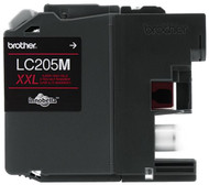 Brother LC205M Super High Yield Magenta Ink Cartridge Original Genuine OEM